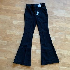 NWT Express High Rise Flare jeans Sz 4 S black